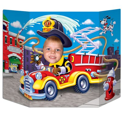Fire Truck Photo Prop - 64cm
