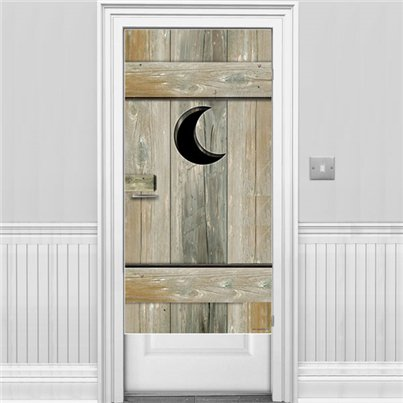 Outhouse Door Banner - 1.5m