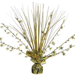 Gold Foil Spray Table Centrepiece - 30cm