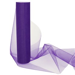 Purple Tulle Roll - 30cm x 25m