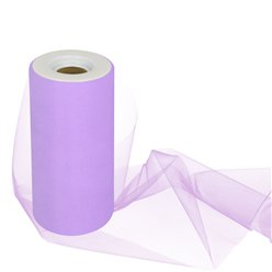Lilac Tulle Roll - 15cm x 25m