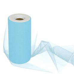 Turquoise Tulle Roll - 15cm x 25m