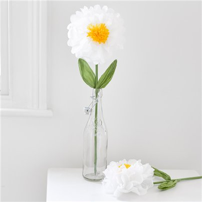 Large White Flower Room Prop Decoration - 55cm