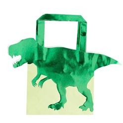 Dinosaur Party Bags - Paper Bags with Foil Finish