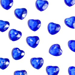 Sapphire Blue Heart Table Diamantes
