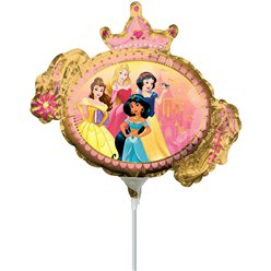 "Disney Princess Mini Airfilled Balloon - 9"" Foil"