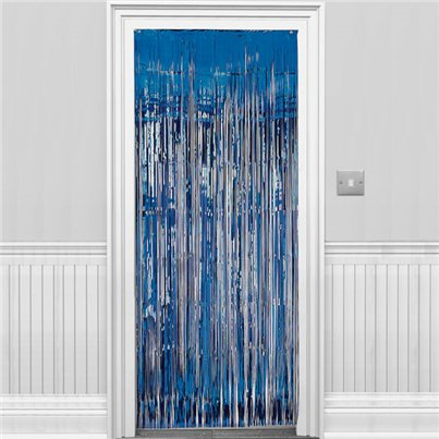 Blue Foil Curtain - 2.4m