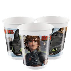 How To Train Your Dragon Plastic Cups - 200ml