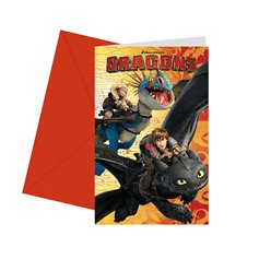 How To Train Your Dragon Party Invitations
