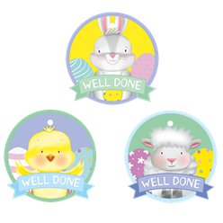Easter Reward Medals