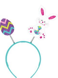 Easter Bunny & Egg Felt Head Bopper