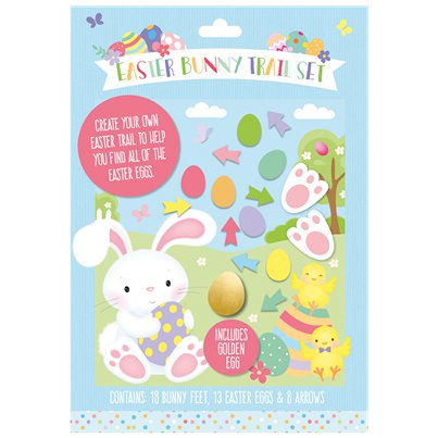 Easter Bunny Trail Set - 30x21cm