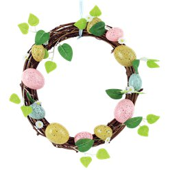 Easter Wreath Decoration - 24cm
