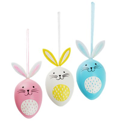 Hanging Egg Bunnies