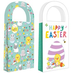 Easter Treat Paper Bags - 10 x 22cm
