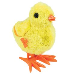 Large Easter Wind Up Chick - 17cm