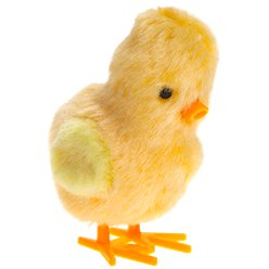 Bouncing Yellow Chick Toy - 7.5cm