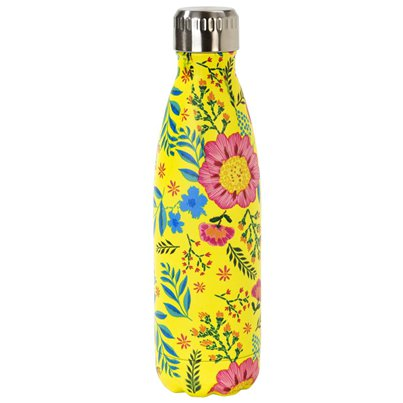 Eco Floral Stainless Steel Bottle - 500ml
