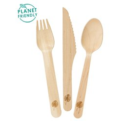 Wooden Cutlery - Assorted Party Pack