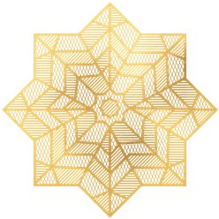 Eid Gold Star Placemat