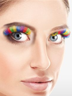 Rainbow Eyelashes