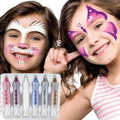 Face Paint Crayons - Pretty Colours