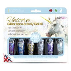 Unicorn Chunky Glitter Gel Kit