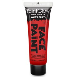 Face Paint Tube - Red 13ml
