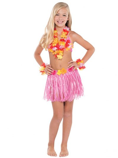 Hawaiian Hula - Child Costume