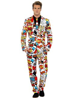 Comic Strip Stand Out Suit