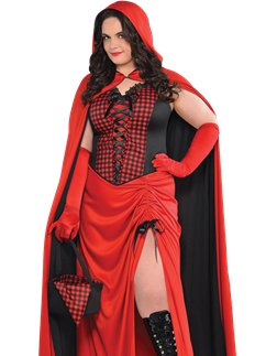 Riding Hood Enchantress Plus Size