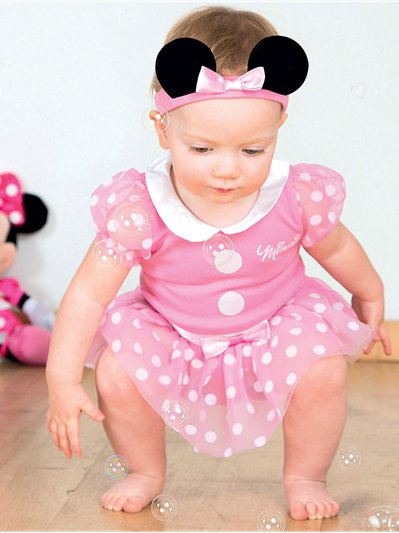 Minnie Mouse Pink Jersey Set - Infant Costume