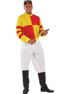 Red and Yellow Jockey