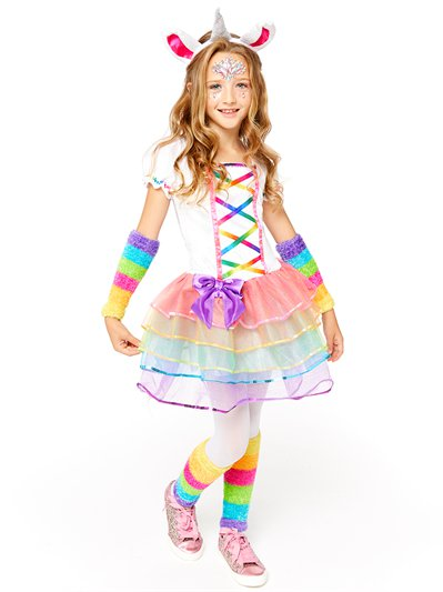 Rainbow Unicorn - Child Costume