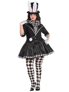 Dark Mad Hatter Plus Size