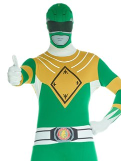 Power Rangers Morphsuit Green