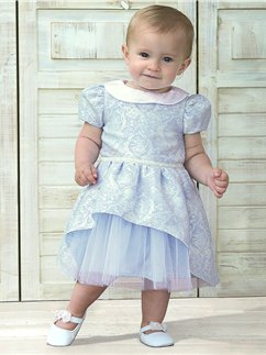 Baby Cinderella Party Dress with Bloomers