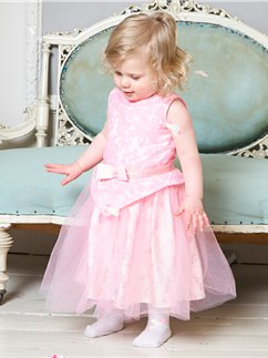 Baby Aurora Party Dress with Bloomers