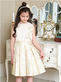 Belle Party Dress with Headband