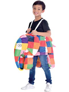 Elmer the Patchwork Elephant Ride On