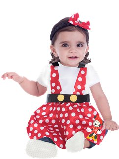 Minnie Mouse Pinafore