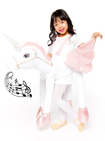 Ride On Light & Sound Unicorn - Child Costume