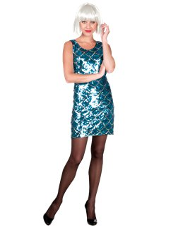 Blue Dazzle Dress