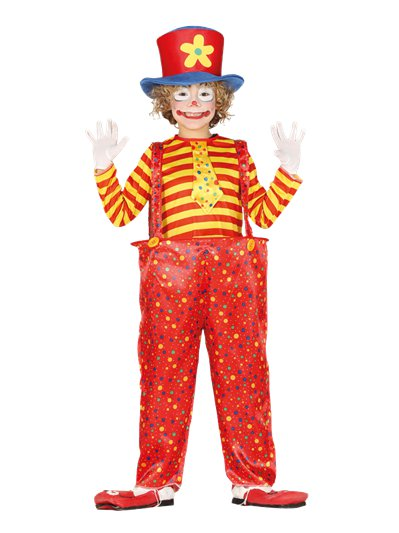 Hoopy The Clown - Child Costume