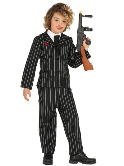 Gangster Suit - Child Costume