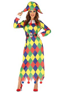 Harlequin Dress