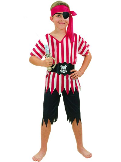 Pirate Boy - Child Costume