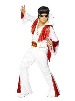 Elvis White/Red