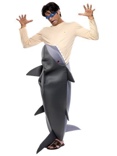 Man Eating Shark - Adult Costume