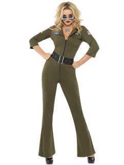 Top Gun Aviator Girl